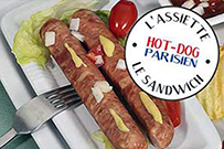 hot-dog parisien